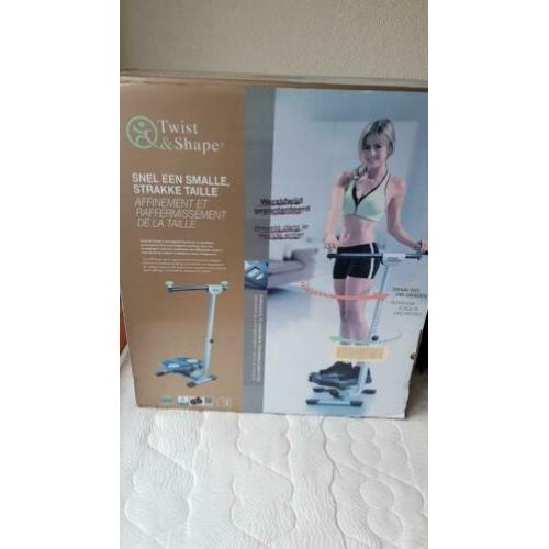 Twist and Shape exercise machine