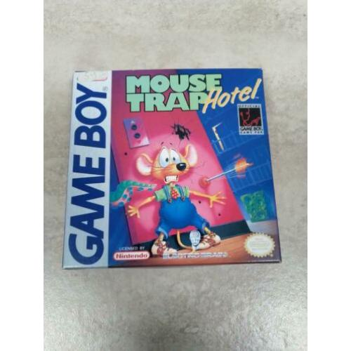Mouse Trap Hotel - Nintendo Gameboy compleet CIB