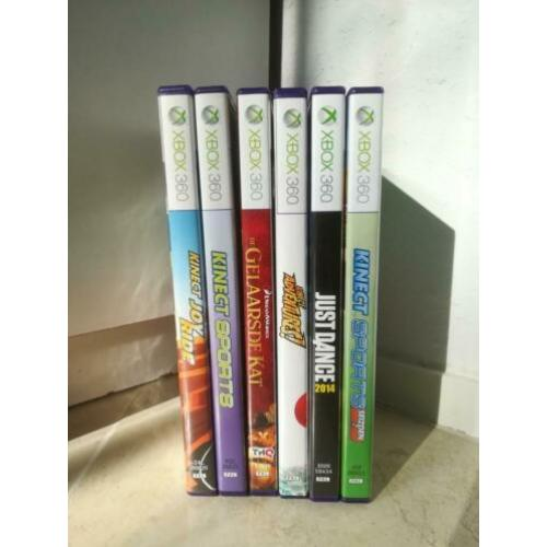 Kinect Xbox 360 games